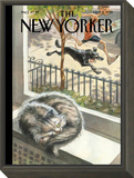 The New Yorker Cover - October 5, 2015 Framed Print Mount by Peter de Sève