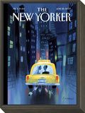 The New Yorker Cover - June 25, 2007 Framed Print Mount by Lou Romano