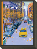 Open Season - The New Yorker Cover, November 7, 2011 Framed Print Mount by Bruce McCall