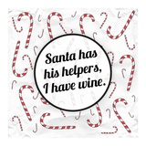 Santa's Helpers - Wine Prints by Ashley Hutchins