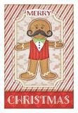 Gingerbread Man Art by Jennifer Pugh