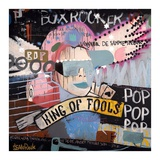 King of fools Posters by Sean Punk