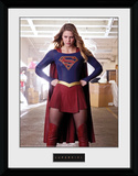 Supergirl - Stance Collector Print