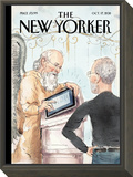 The Book of Life - The New Yorker Cover, October 17, 2011 Framed Print Mount by Barry Blitt