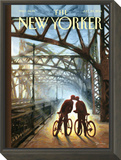 The New Yorker Cover - July 28, 2014 Framed Print Mount by Eric Drooker