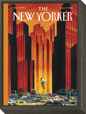 The New Yorker Cover - August 3, 2015 Framed Print Mount by Mark Ulriksen