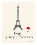 Paris Prints by Jan Weiss