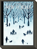 The New Yorker Cover - February 9, 2015 Framed Print Mount by Mark Ulriksen