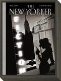 The New Yorker Cover - June 10, 2013 Framed Print Mount by Birgit Schössow