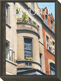 The New Yorker Cover - April 13, 2015 Framed Print Mount by Harry Bliss