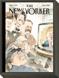 The New Yorker Cover - February 1, 2016 Framed Print Mount by Barry Blitt