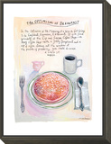 The New Yorker - July 22, 2013 Framed Print Mount by Maira Kalman