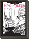 No! - The New Yorker Cover, September 26, 2011 Framed Print Mount by Bruce Eric Kaplan