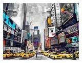 Times Square Art by James Grey