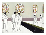 The Market Plakat af Nicolai Kubel Olesen