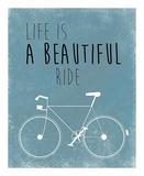 A Beautiful Ride Poster von Jan Weiss