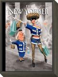 The New Yorker Cover - September 10, 2012 Framed Print Mount by Ian Falconer