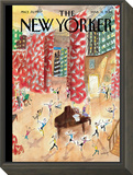Tiny Dancers - The New Yorker Cover, March 31, 2014 Framed Print Mount by Jean-Jacques Sempé