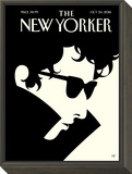 Bob Dylan ? The New Yorker Cover ? October 24, 2016 Framed Print Mount by Malika Favre
