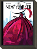 City Flair - The New Yorker Cover, May 6, 2013 Framed Print Mount by Birgit Schössow