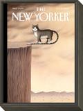 The New Yorker Cover - October 5, 2009 Framed Print Mount by Gürbüz Dogan Eksioglu