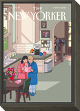 Mothers' Day - The New Yorker Cover, May 13, 2013 Framed Print Mount by Chris Ware