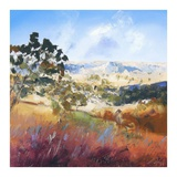 King Valley Print by Craig Trewin Penny
