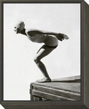 Vogue - July 1929 - Jean Patou Swimwear Framed Print Mount by George Hoyningen-Huené