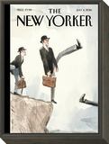 The New Yorker Cover - July 4, 2016 Framed Print Mount by Barry Blitt