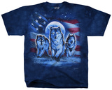Patriotic Wolf Pack T-shirts