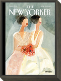 The New Yorker Cover - June 25, 2012 Framed Print Mount by Gayle Kabaker