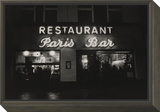Vogue - October 1985 - Paris Restaurant in Berlin Framed Print Mount by Dominique Nabokov