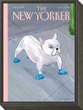 The New Yorker Cover - October 7, 2013 Framed Print Mount by Maira Kalman