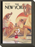 The New Yorker Cover - August 3, 1998 Framed Print Mount by Carter Goodrich