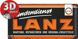 Lanz - Logo Tin Sign