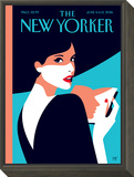 The New Yorker Cover - June 6, 2016 Framed Print Mount by Malika Favre