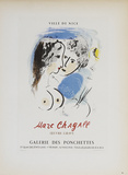 Galerie des Ponchettes Collectable Print by Marc Chagall