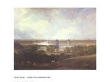 London from Greenwich Park Art by J.M.W. Turner