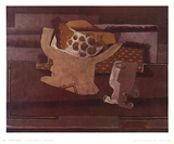 Still Life with Fruit Dish Collectable Print by Georges Braque