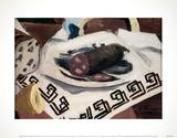 The Sausage Stampe da collezione di Georges Braque