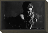 Vogue - November 1962 - Smoky Sophia Framed Print Mount by Bert Stern