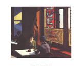 Chop Suey Reproduction pour collectionneur par Edward Hopper