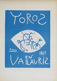 Toros en Vallauris Impressões colecionáveis por Pablo Picasso
