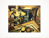 The Billiard Table Under the Light Samletrykk av Georges Braque