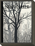 Sunlight on Twenty-third Street - The New Yorker Cover, January 23, 2012 Framed Print Mount by Jorge Colombo