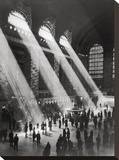 Grand Central Station Stretched Canvas Print by  The Chelsea Collection