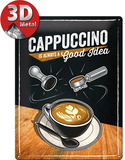 Cappuccino Good Idea Tin Sign