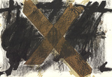 DLM No. 200 Pages 4,5 Collectable Print by Antoni Tapies