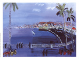 The Bay of Angels Collectable Print by Raoul Dufy