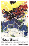 Portrait de T. Collectable Print by Sam Francis